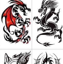 tetovačky s draky a mystickými motivy